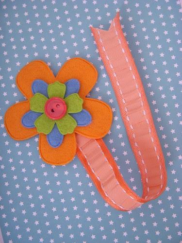 Felt Flower Bookmark full