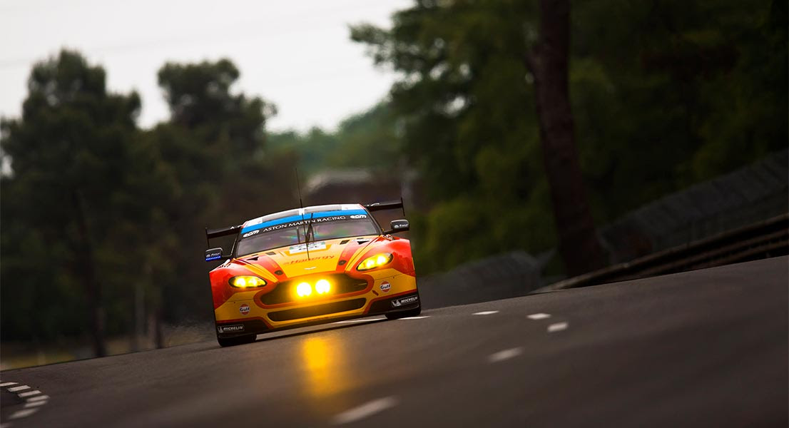Aston Martin Qualifies On Pole For The 24 Hours Of Le Mans