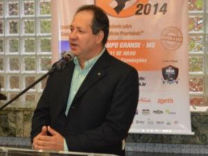 Coordenador do Circuito Expocorte, Moacyr Seródio (Foto: Anderson Viegas/Do Agrodebate)