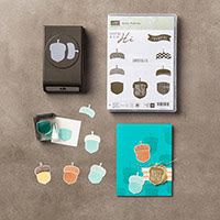 Acorny Thank You Photopolymer Bundle by Stampin' Up!
