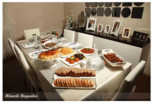 Ülkü'nün Akşam Yemeği Sofrası-2