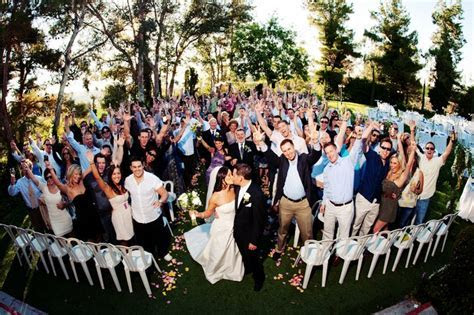 Our wedding day. The best time to get a group shot, is