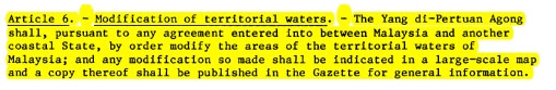 Emergency Ordinan- Teritorial water