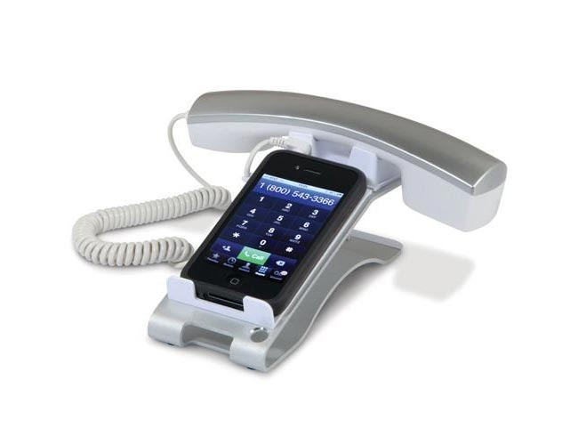 iPhone desktop handset