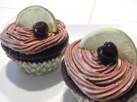 Cuba libre cupcakes