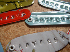 artfest dog tags
