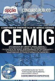 Apostila Concurso CEMIG 2018 | CARGOS DE NÍVEL MÉDIO