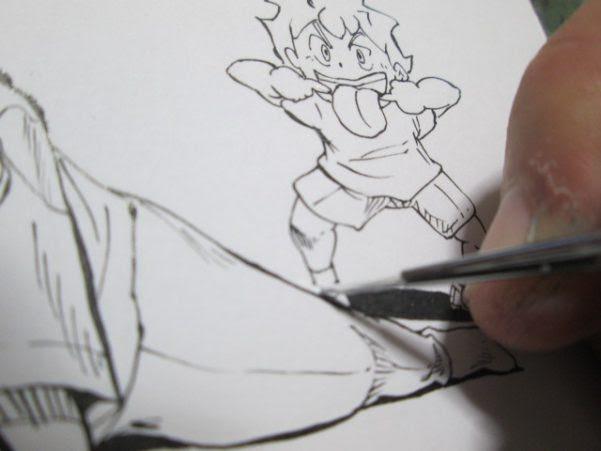 ペン画イラストの描き方と描いた絵をブログに載せる方法を大公開