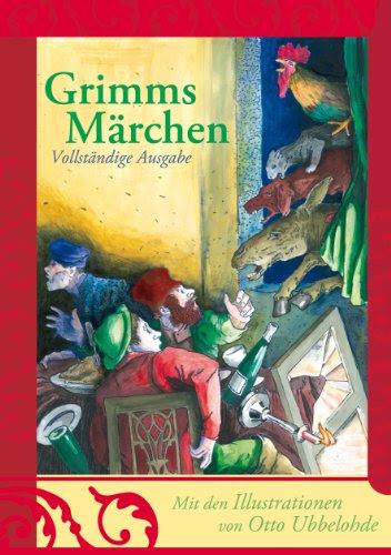ドイツ語版グリム童話完全版 イラストオットーウベローデ