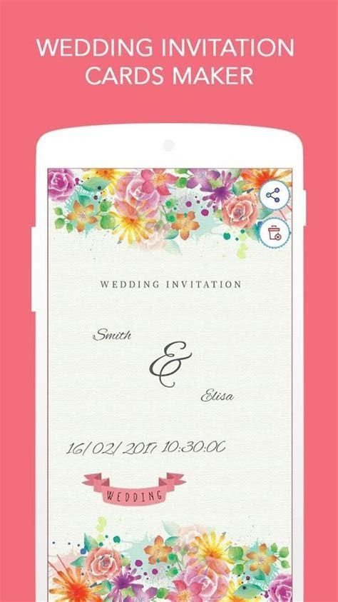 Wedding Invitation Cards Maker for Android   Free download