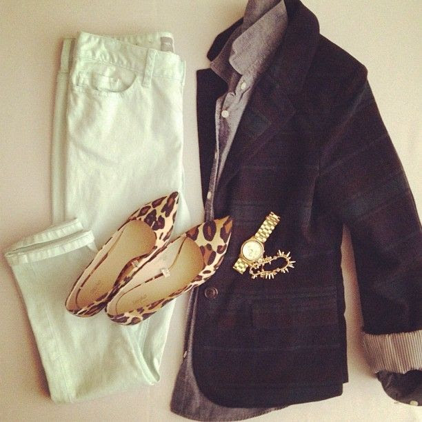 Mint, plaid, leopard