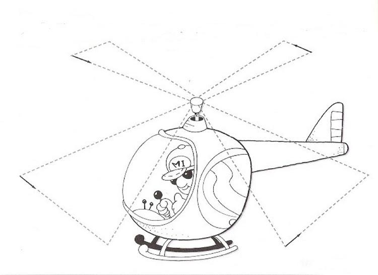 1 Sınıf çiz Boya Etkinlikleri Helikopter Okul Etkinlikleri