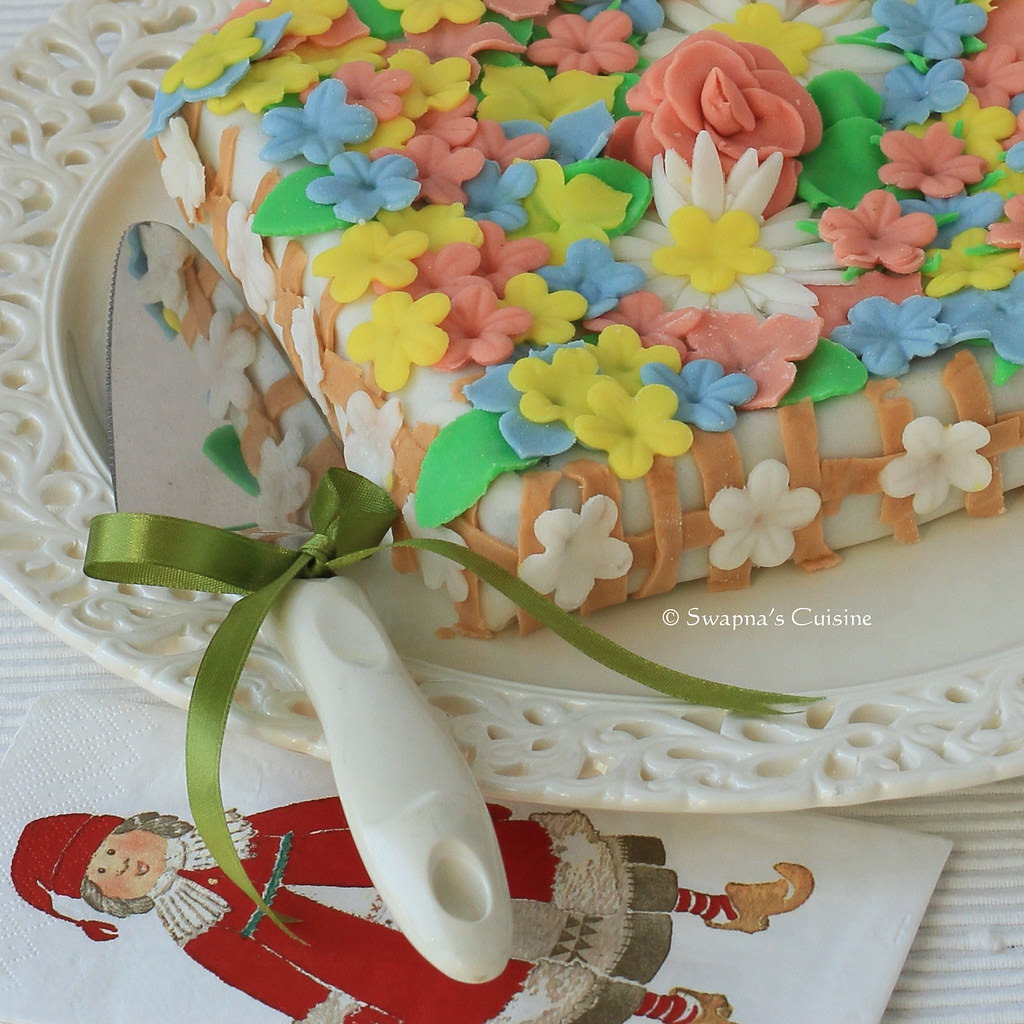 Swapna's Cuisine: Marshmallow Fondant Icing Recipe / MM