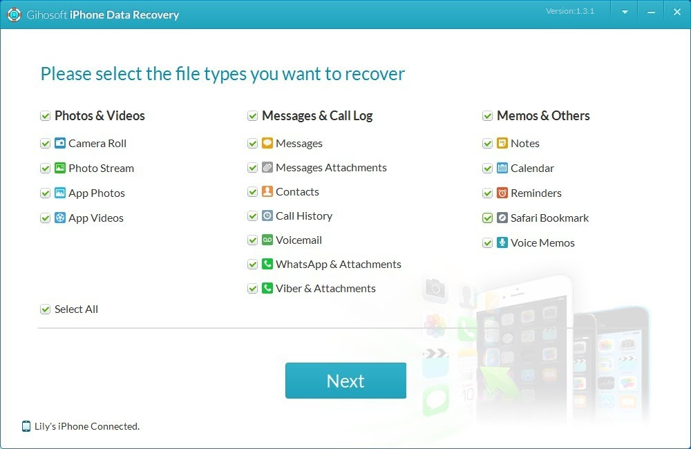 Gihosoft iPhone Data Recovery 3.0.7 free download for Mac  MacUpdate