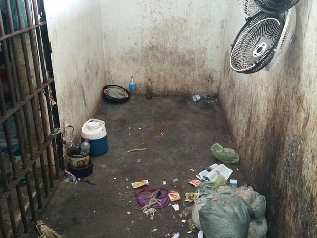 Unidade prisional no município de Presidente Durtra não oferece assitência aos internos (Foto: Divulgação/Ministério Público do Maranhão)