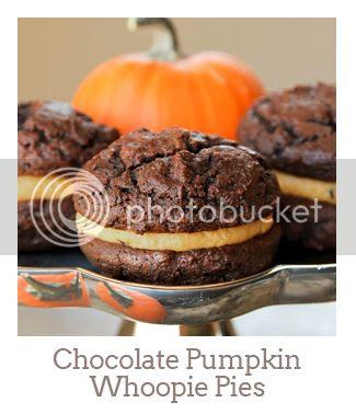 """""""Chocolate Pumpkin Whoopie Pies"""""""