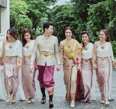226 best images about Thai Wedding Dress on Pinterest