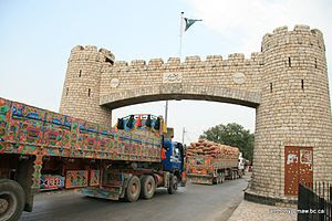 Khyber Gate (Baab e Khyber) on Jamrud Road in ...