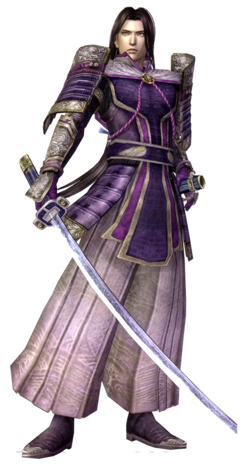 16 mitsuhide akechi samurai warriors Top 20 personagens masculinos mais bonitos dos games