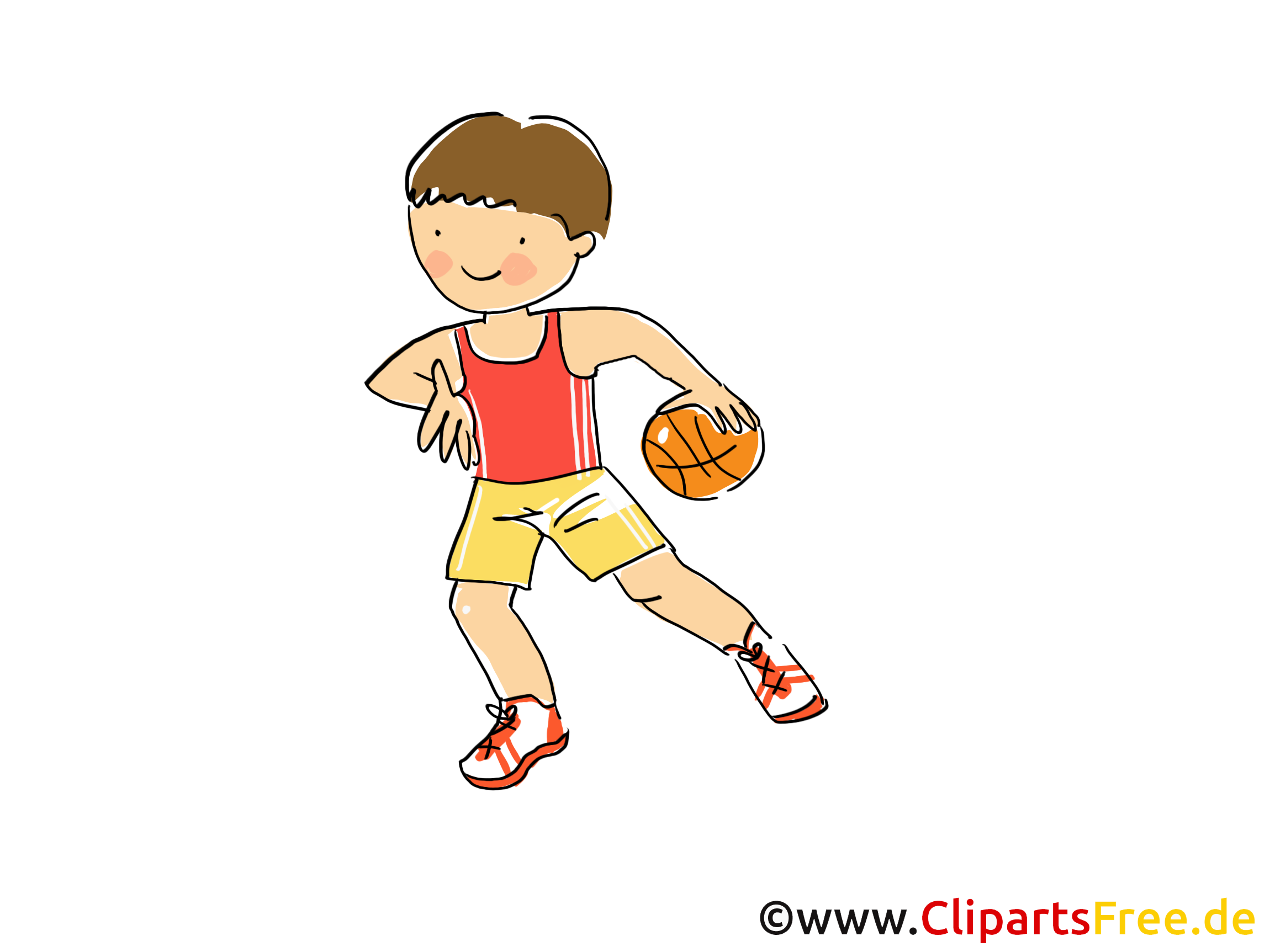 Handball Bild Clipart ic Cartoon Image gratis