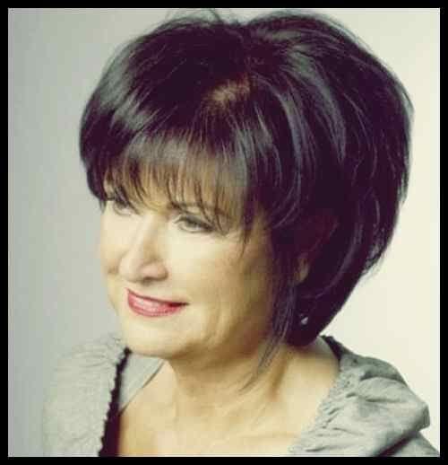 Frisur Stil: Bob Frisur Für Frauen Ab 60