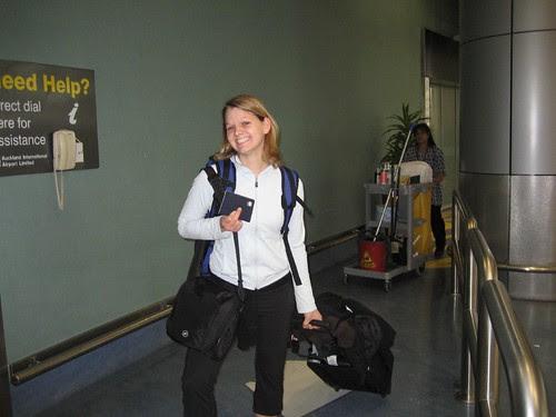 Lisa arrival NZ
