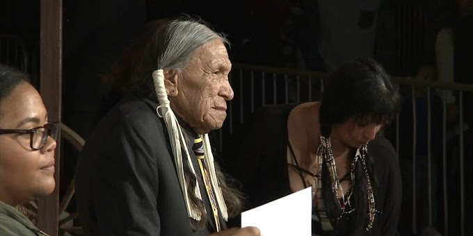Saginaw Grant, prolific Native American actor and hereditary chief of the Sac & Fox Nation of Oklahoma, has died at 85