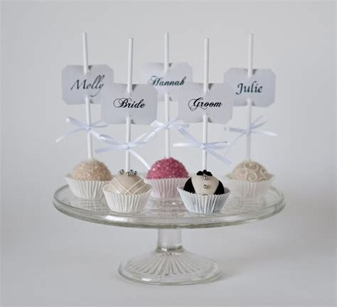 94 best Wedding Cake Pops! images on Pinterest   Biscuit