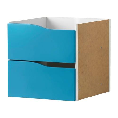 KALLAX Upotettava laatikosto/2 laatikkoa IKEA
