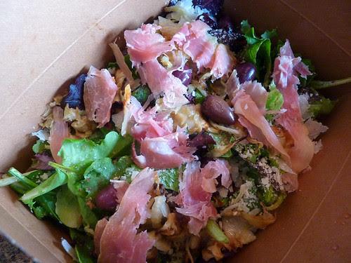 my salad lunch!