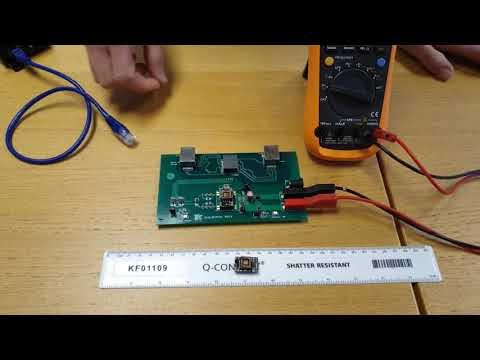 .Ag9900-LP -- 世界上最小 POE 802.3af PD 模組