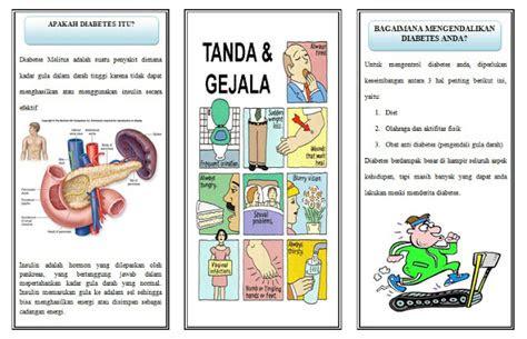 asuhan keperawatan leaflet diabetes melitus