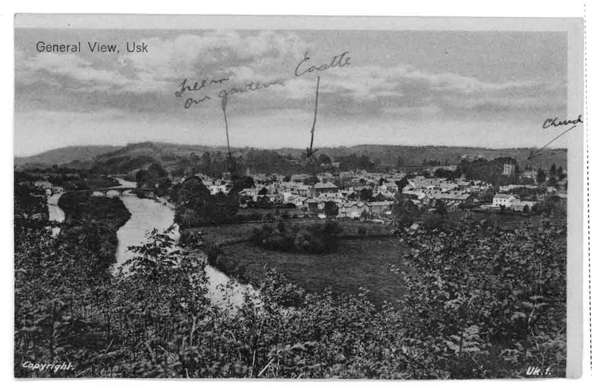 Usk in about 1927
