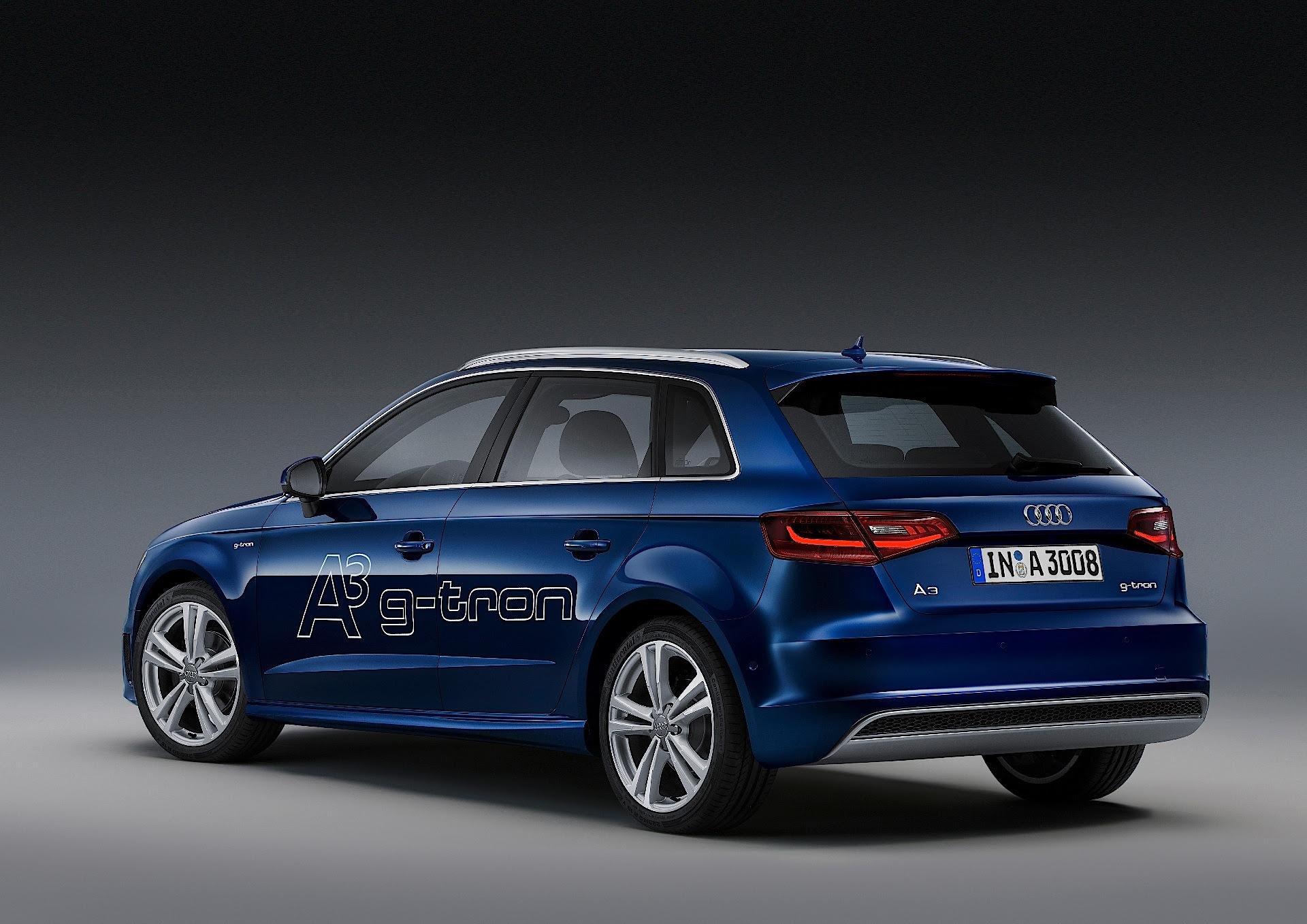 Audi A3 Sportback G Tron  Autoevolution