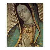 CafePress Our Lady of Guadalupe - Large Poster Throw Blanket - Standard