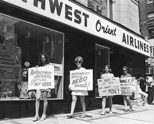 Airline Protesters