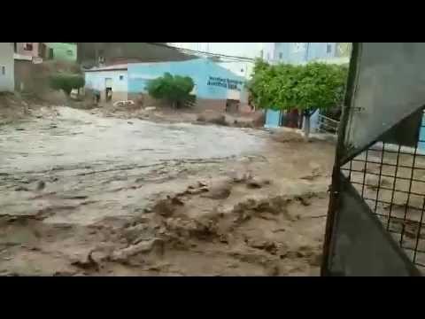 Vídeo: chuva quase destrói Triunfo da Bahia
