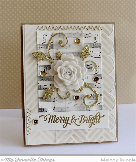 handmade Christmas card from A Paper Melody   collage