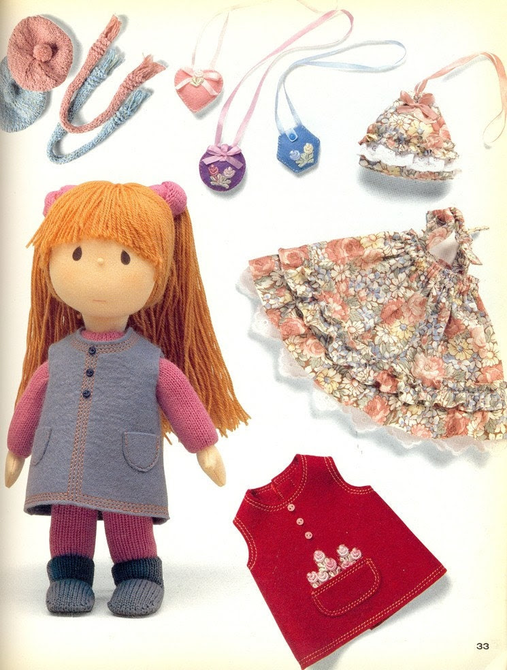 Out-of-print master collection Kyoko Yoneyama 05 - Small Dolls - Japanese craft book