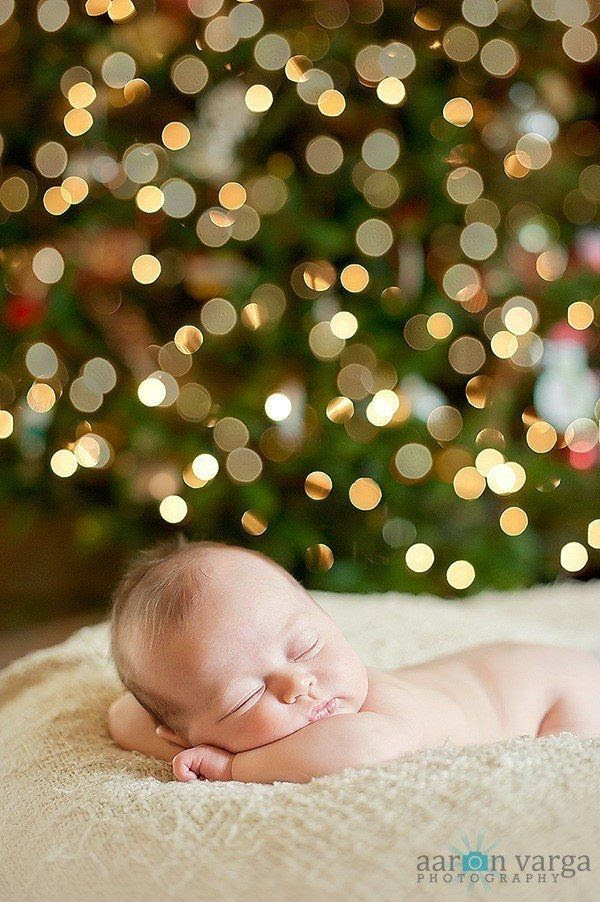 And this one who just wants to catch a few z's: | 29 Babies Who Totally Nailed Their First Christmas Photo Shoot