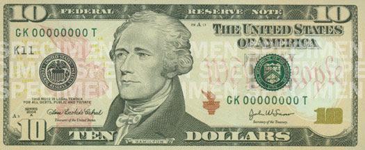 Ten Dollars, Ten States, Ten Days .