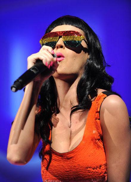 Katy Perry's crazy sunglasses