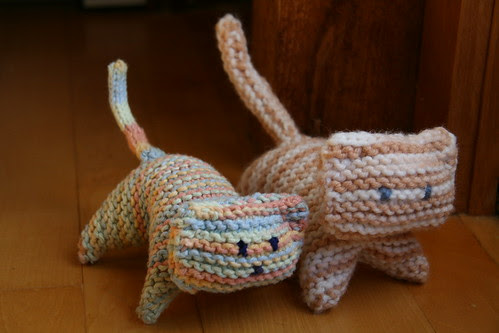 Knitted Kitties