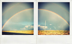 iPhoneography: 'Double Rainbow' (diptych)