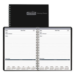 House Of Doolittle Recycled Meeting Note Planner