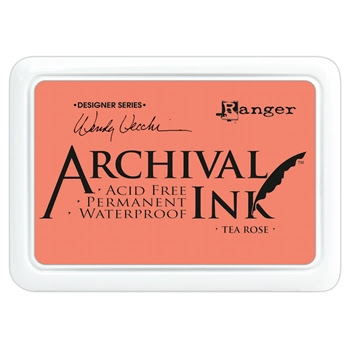 Ranger Wendy Vecchi Archival TEA ROSE Ink Pad AID45663
