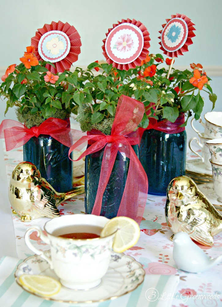 Host A Mothers Day Tea Party 3 Little Greenwoods