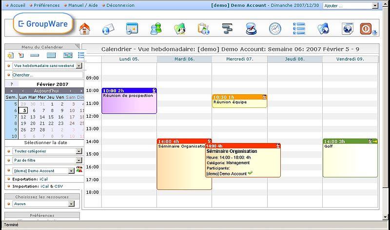 EGroupware Enterprise Collaboration
