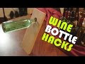 Usefull Stuff You Can Do With Empty Wine Bottles - Video