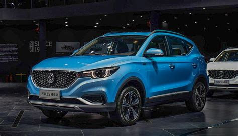 mg ezs suv  global debut india launch